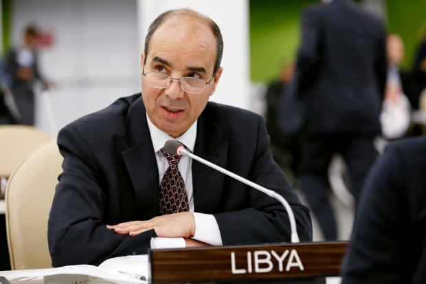 Libya's Special Representative to the United Nations, Ibrahim Dabashi