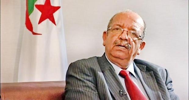 Algerian foreign minister, Abd El-gader Messahel.