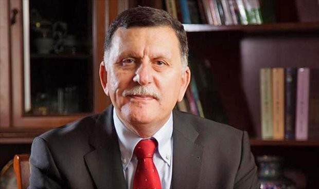 Fayiz Al-Serraj, the Head of the Presidential Council