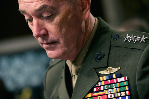 Gen. Joseph Dunford Jr. Credit Chip Somodevilla/Getty Images