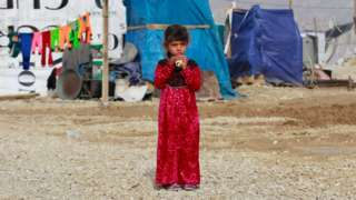 Nearly half of Syrian children displaced in neighbouring countries are not in school, a new report says
