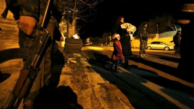 A few people have been given permission to leave Madaya