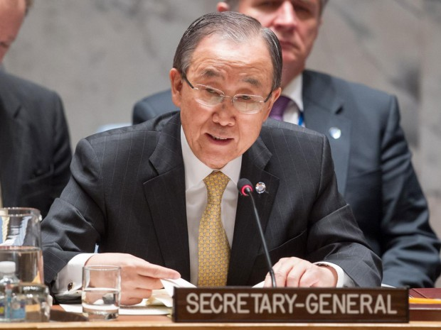 United Nations Secretary-General Ban Ki-moon AFP/Getty