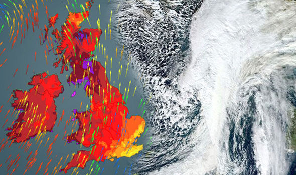 Britain's weather is set to drastically change in the next 48 hours