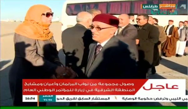 A delegation led by HoR members in Meitega airport. (Tanasoh Tv)