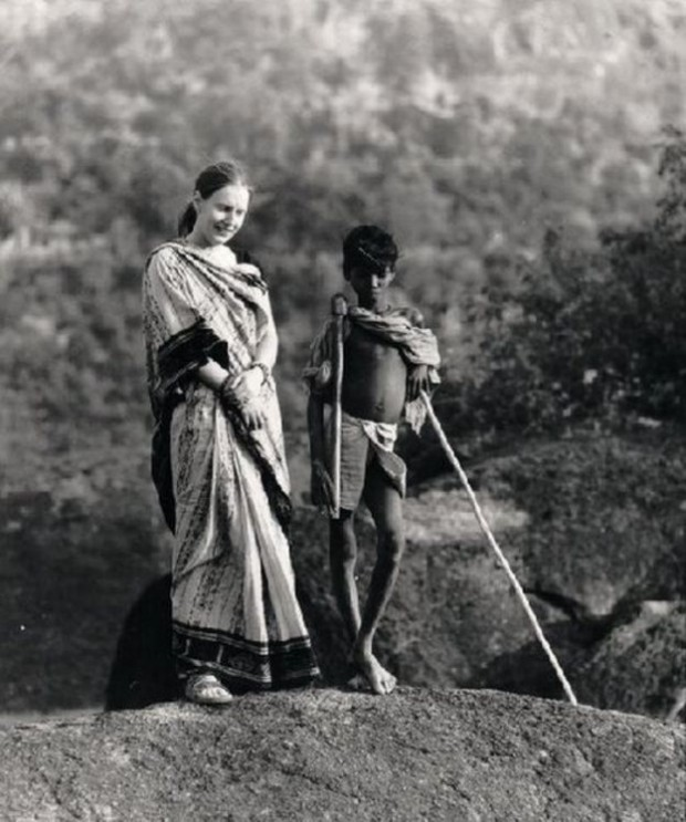 Charlotte Von Schedvin loved the Indian countryside