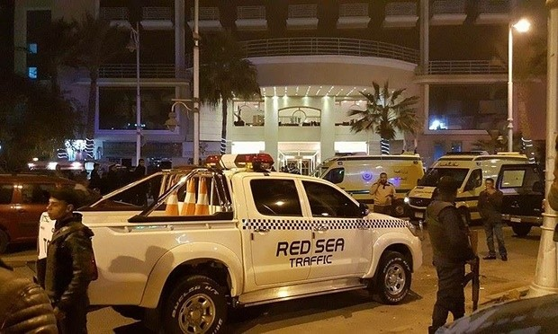 Egypt Gunmen Launch Assault On Tourists Resort In Red Sea Hotel