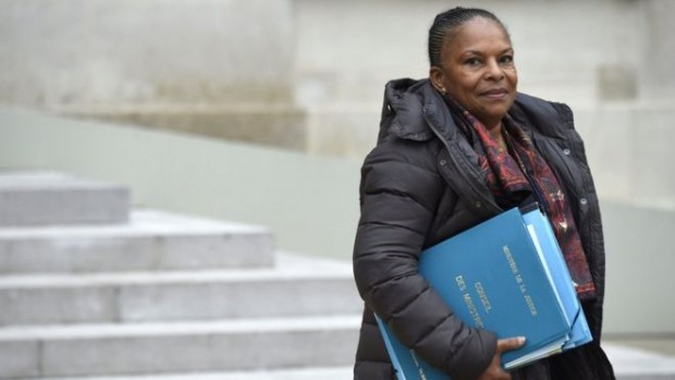 Ms Taubira is one of France's few black politicians to have filled a senior ministerial role