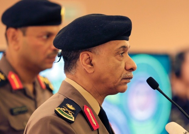 Saudi Interior Ministry spokesman Maj.-Gen. Mansour al-Turki described the executions as an example of Saudi Arabia's tough response to terrorism. (Hasan Jamali-Associated Press)