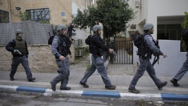 Security forces have been carrying out searches in the city