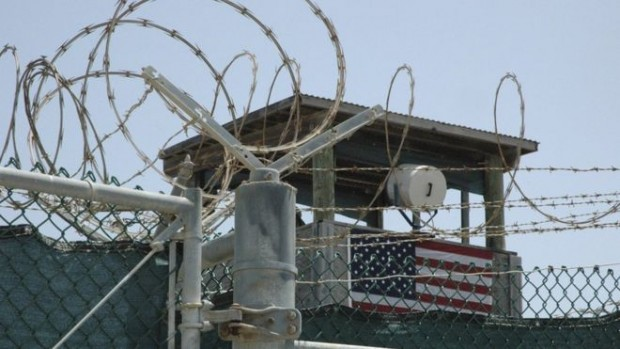 The Guantanamo Bay facility is used to detain what the US government calls (enemy combatants)