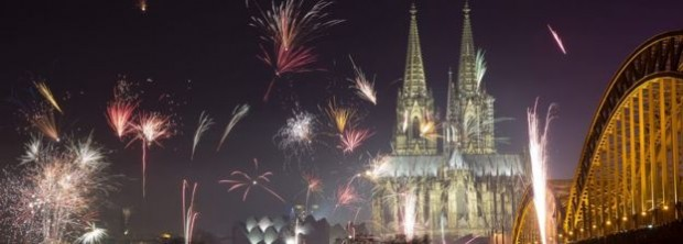 The attacks took place close to Cologne Cathedral as fireworks exploded celebrating the new year