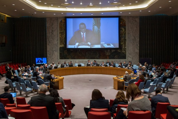 Wide view of the Security Council. UN Photo/Loey Felipe (file)