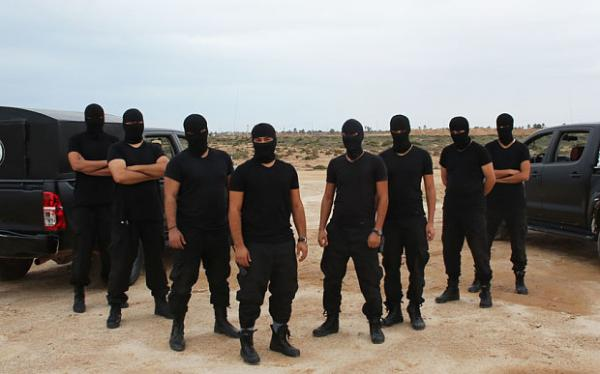 The Masked Men in Zuwara, Libya. (Photo: Ethiogrio)