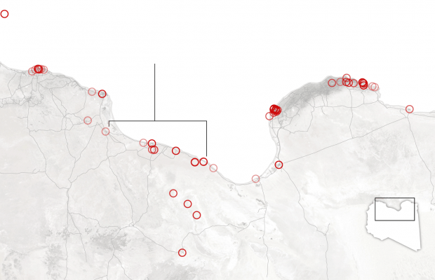 Source: Data on episodes of violence compiled by the Armed Conflict Location and Event Data Project based on news reports By The New York Times