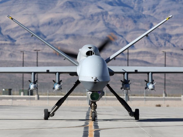 There are concerns that Reaper drones are already being used in Libya Getty