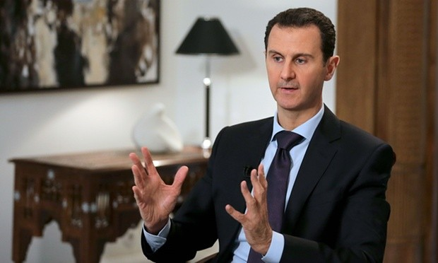 Syrian president Bashar al-Assad. Photograph: Joseph Eid/AFP/Getty Images