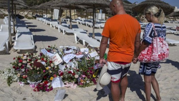 The Sousse attack last year left 30 Britons dead - Reuters