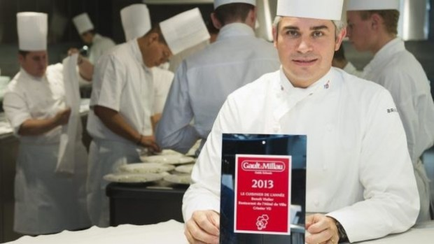 Mr Violier trained with some of the top French chefs in Paris, before winning acclaim in Crissier