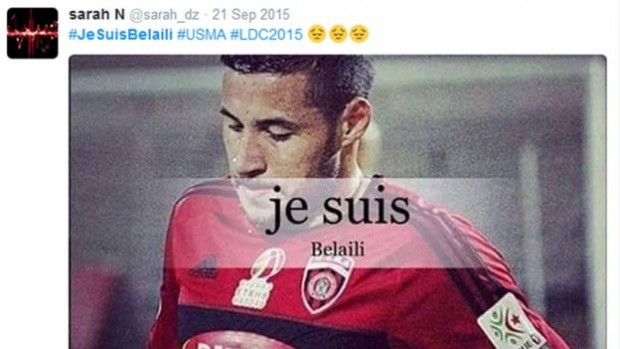Youcef Belaili has many supporters on social media