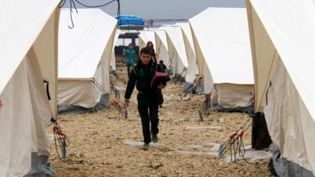 Thousands of Syrians have been displaced by the fighting