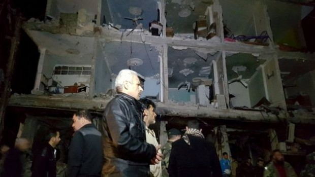 Dozens were killed in the blasts in Sayyida Zeinab | Reuters