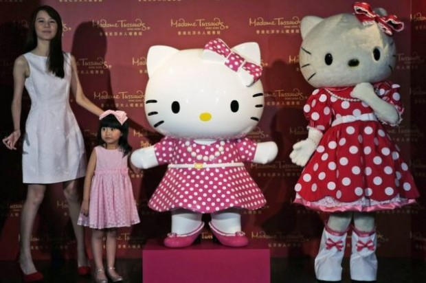 Hello Kitty now has her own Madame Tussauds wax figurine in Hong Kong