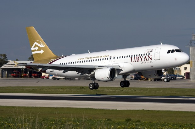 Libyan_Airlines_Airbus_A320_Zammit