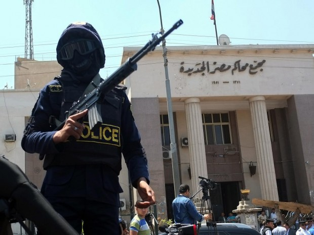 Egyptian courts have been cracking down on dissenters since the coup in 2013 (file photo) Getty Images