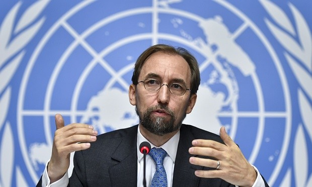 The UN human rights chief, Zeid Ra'ad Al Hussein, said complete impunity continues to prevail in Libya. Photograph: AFP/Getty