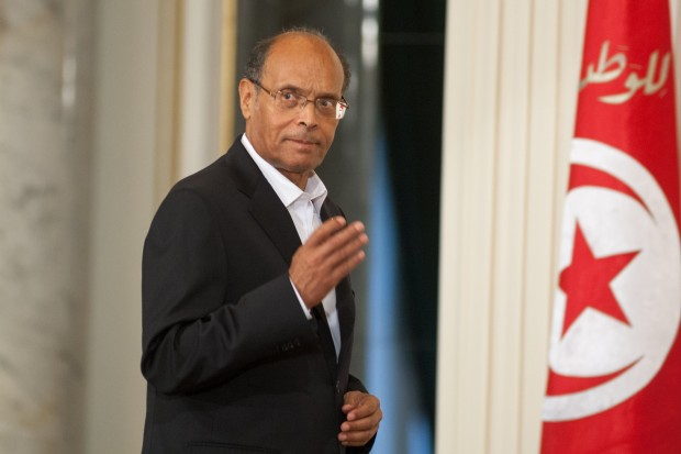 Former Tunisian President, Al-Munsif Al-Marzouki