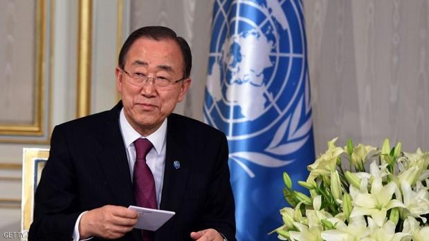 UN chief Ban Ki-moon. FETHI BELAID/AFP/Getty Images