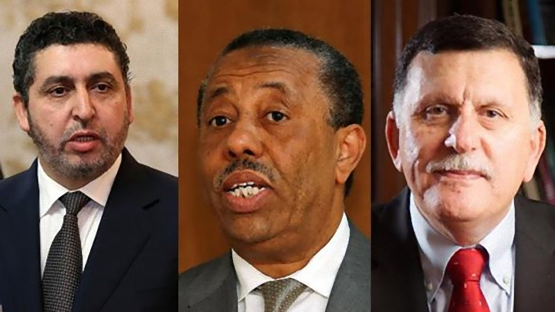 The three governments of Libya