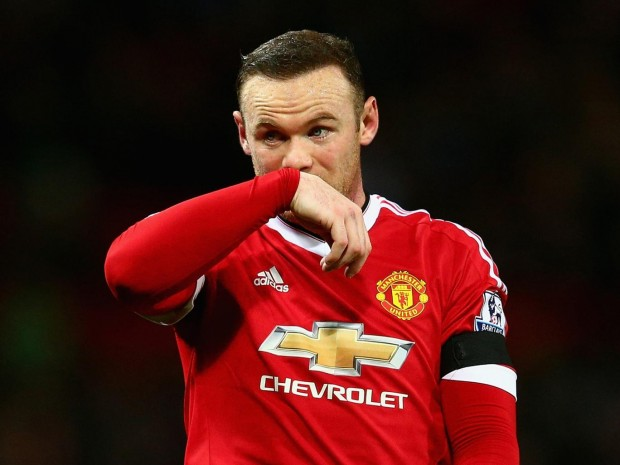 Manchester United striker and captain Wayne Rooney Getty Images