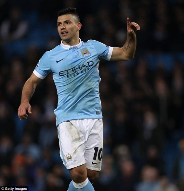 Sergio Aguero's Manchester City will play Paris Saint-Germain in the Champions League quarter-finals Read more: http://www.dailymail.co.uk/sport/football/article-3498571/Champions-League-draw-Manchester-City-face-PSG-quarter-finals-Barcelona-play-Atletico-Madrid.html#ixzz43L88MIrx Follow us: @MailOnline on Twitter | DailyMail on Facebook