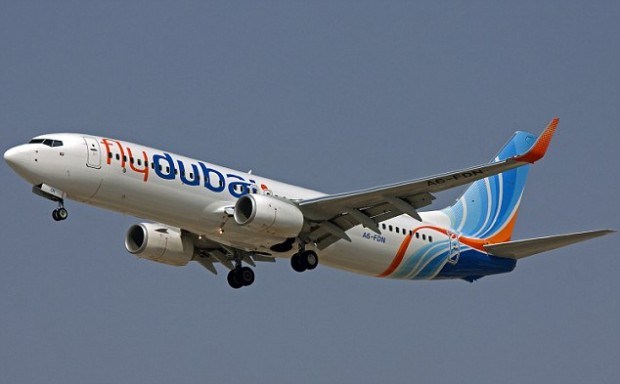 The aircraft involved is believed to be FlyDubai Flight FZ981 using this Boeing 737-800 aircraft