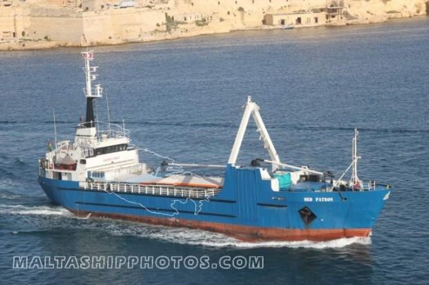 The 'Med Patron' cargo ship. Photo credit: www.maltashipphotos.com