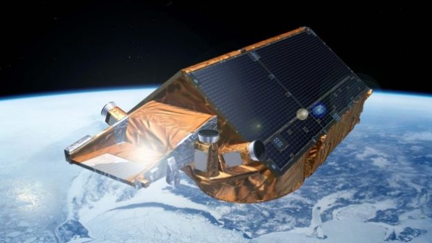 Artist's impression: Cryosat is the only satellite currently dedicated to the study of Earth's poles