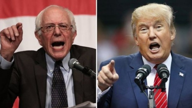 Sanders won unexpectedly in Michigan while Trump took Michigan and Mississippi
