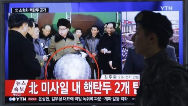 Footage of Kim Jong-un was broadcast by North Korea's state media