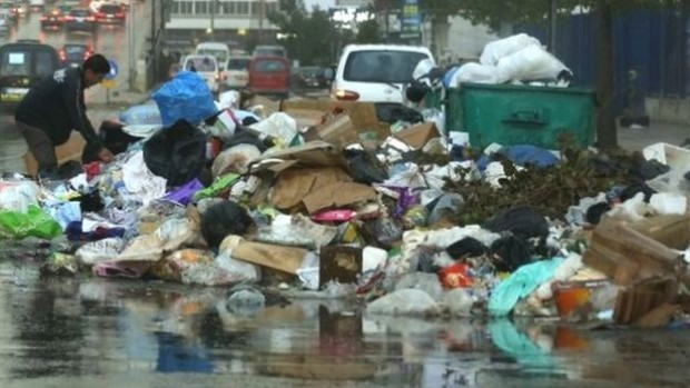 It is hoped that temporary rubbish dumps which have begun to appear all over Beirut will soon no longer exist