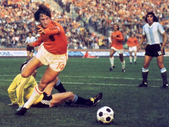 The Netherlands captain led the famed Dutch team of the 1970s to the World Cup final