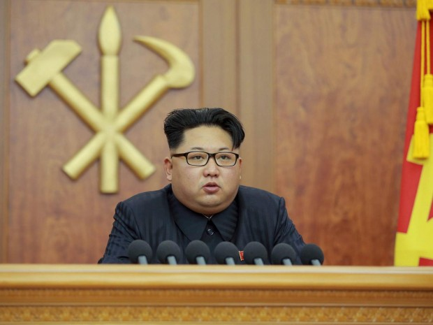 North Korean leader Kim Jong-Un REUTERS/Kyodo