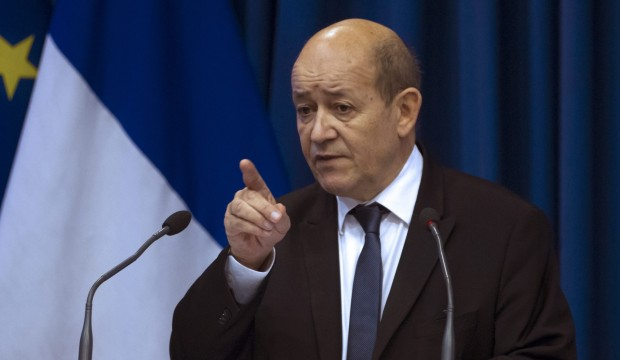 Jean-Yves Le Drian. Ian Langsdon/EPA/MaxPPP