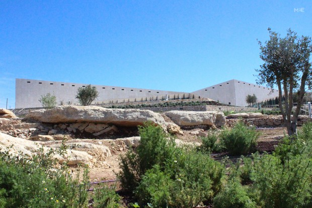 The Museum is the first LEED-certified green building constructed in Palestine. Phase 1 of the building will be completed in 2016. The second phase will expand it from 3,500 square metres to 10,000 square metres by 2026 (MEE/Mary Pelletier) - See more at: http://www.middleeasteye.net/in-depth/features/palestinian-museum-safe-place-unsafe-ideas-474077213#sthash.QENPhD30.dpuf