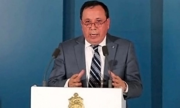 The Foreign Minister of Tunisia, Khamis Al-Gehinawi