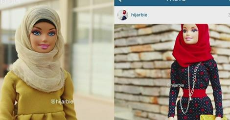 Hijarbie creator wants doll to inspire young Muslim women