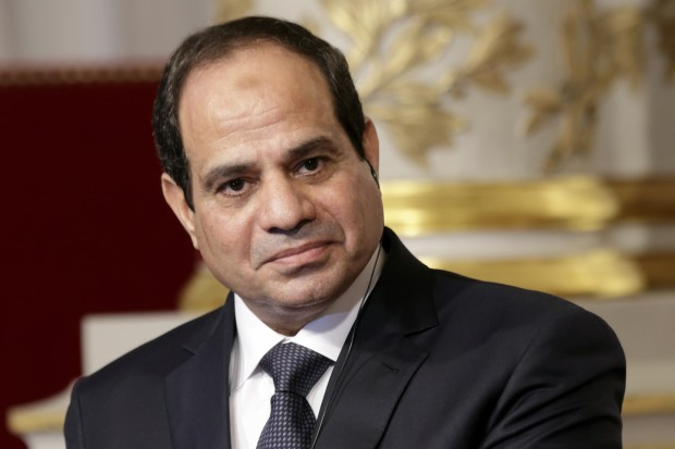 Egyptian President Abdel Fattah al-Sisi. REUTERS/Philippe Wojazer