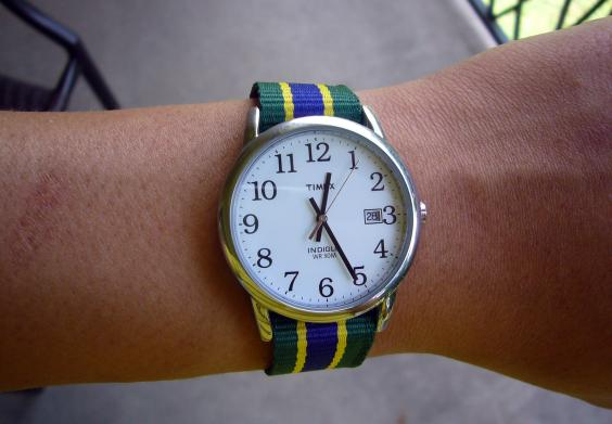 Watches set to other times just don't look as aesthetically pleasing (Pic: Kent Wang/Flickr, published under CC BY-SA 2.0 license)