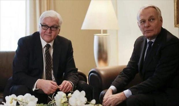 وزيرا-خارجية-فرنسا-وألمانيا-يصلان-طرابلس-للقاء-«السراج»
